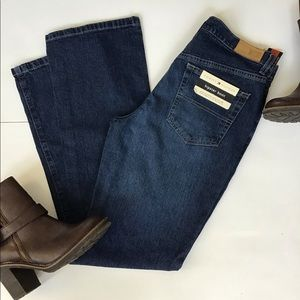 Tommy Hilfiger woman hipster boot jeans SZ 6 NWT